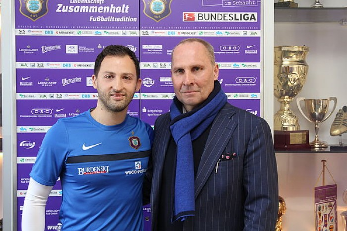 Domenico Tedesco confirmed as Erzgebirge Aue boss