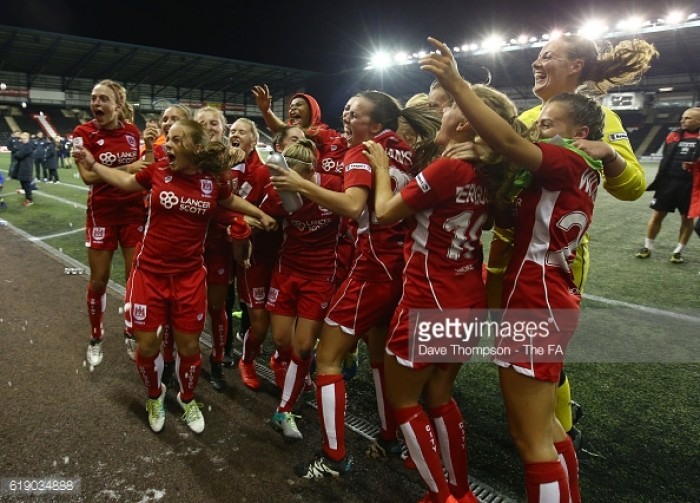 Everton 2-3 Bristol City: Vixens boomerang back to WSL 1 with win in Widnes