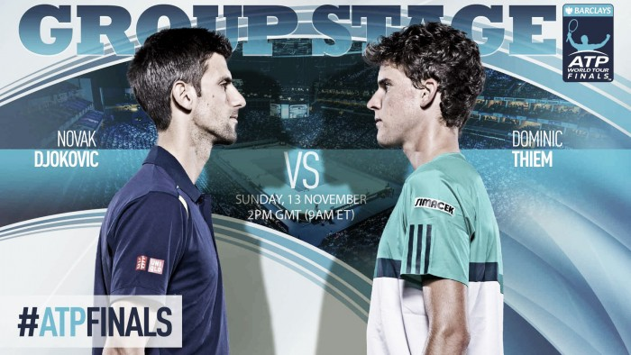 Atp Finals, Djokovic inizia con Thiem. In serata Raonic-Monfils