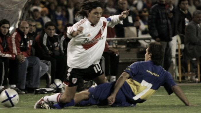 Gallardo vs. Barros Schelotto: duelos como jugadores