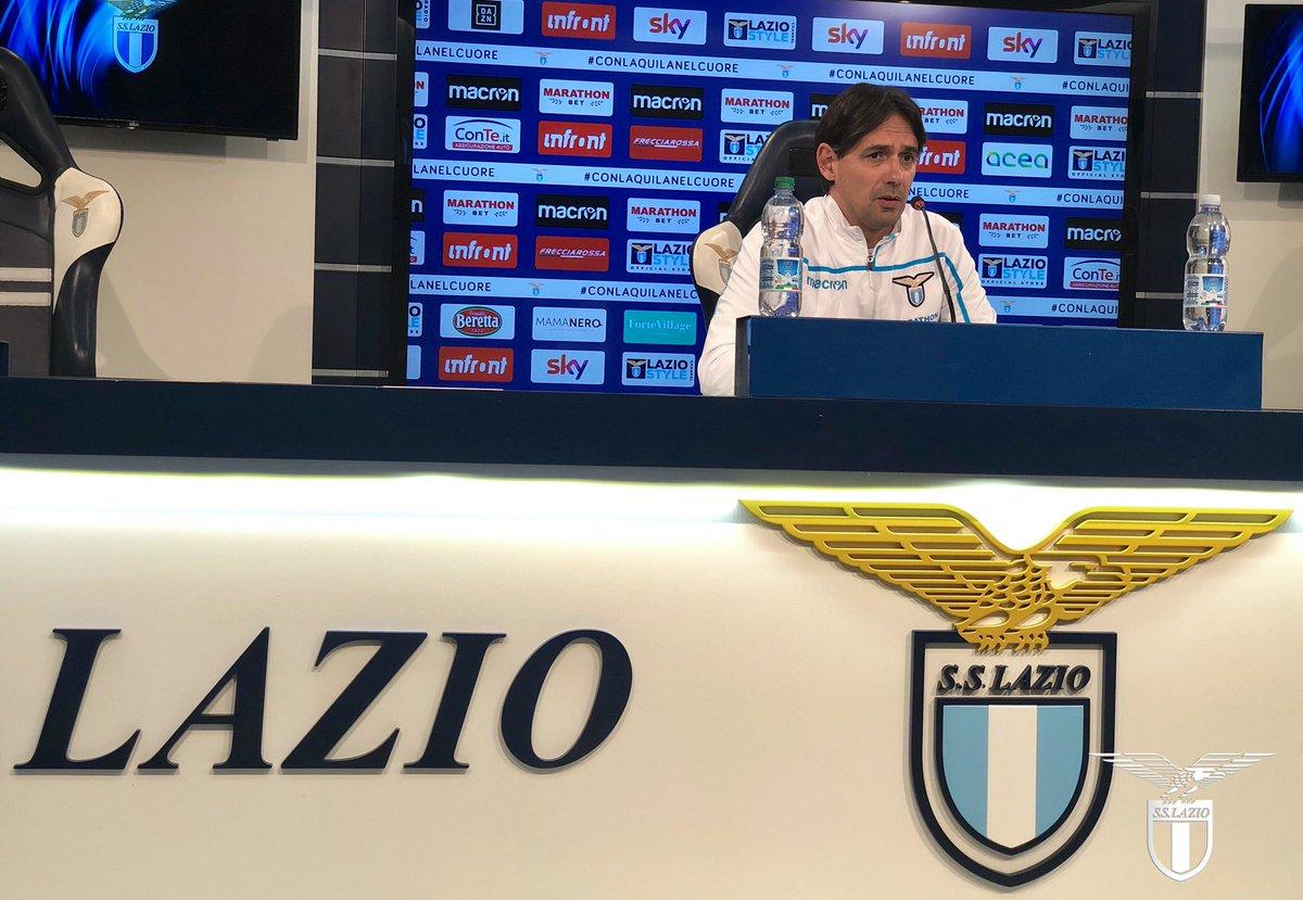 """Lazio, Inzaghi in conferenza: """"Vogliamo i tre punti per il bene della nostra classifica"""""""