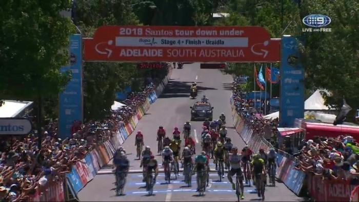Ciclismo, Tour Down Under: tappa e maglia per Sagan