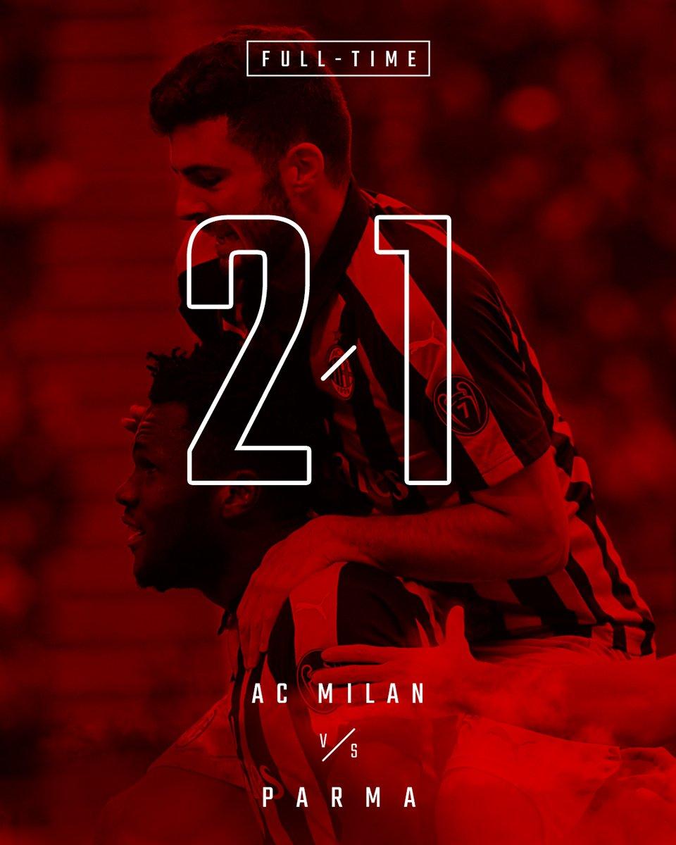 "Milan, vittoria in rimonta. Gattuso: ""Vittoria fondamentale. Felice per Cutrone, ha messo a tacere certe voci"""