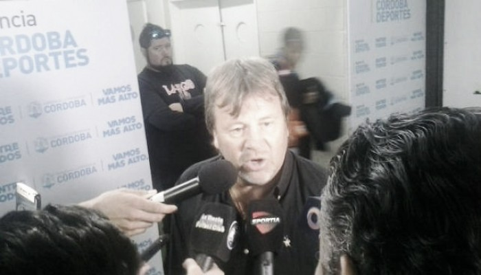 "Ricardo Zielinski: ""Fuimos superiores a Vélez"""