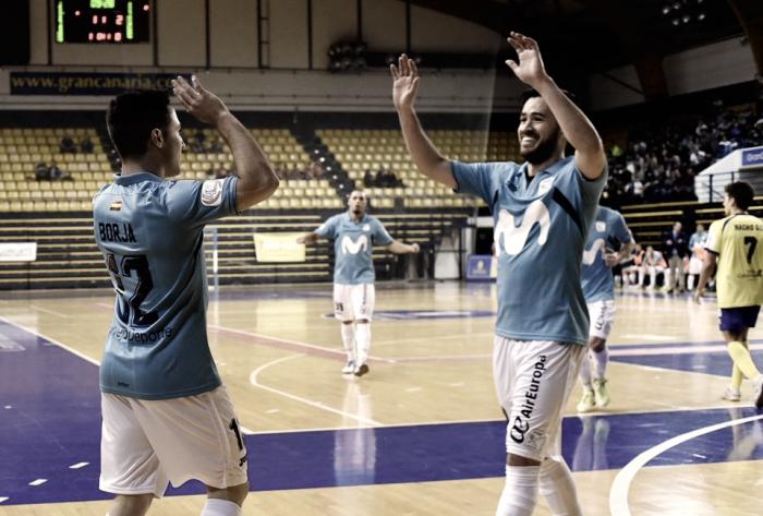 Movistar Inter suma y sigue ante Gran Canaria