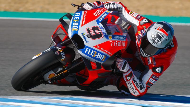 MotoGP - Test Jerez: Petrucci in testa, secondo Dovizioso