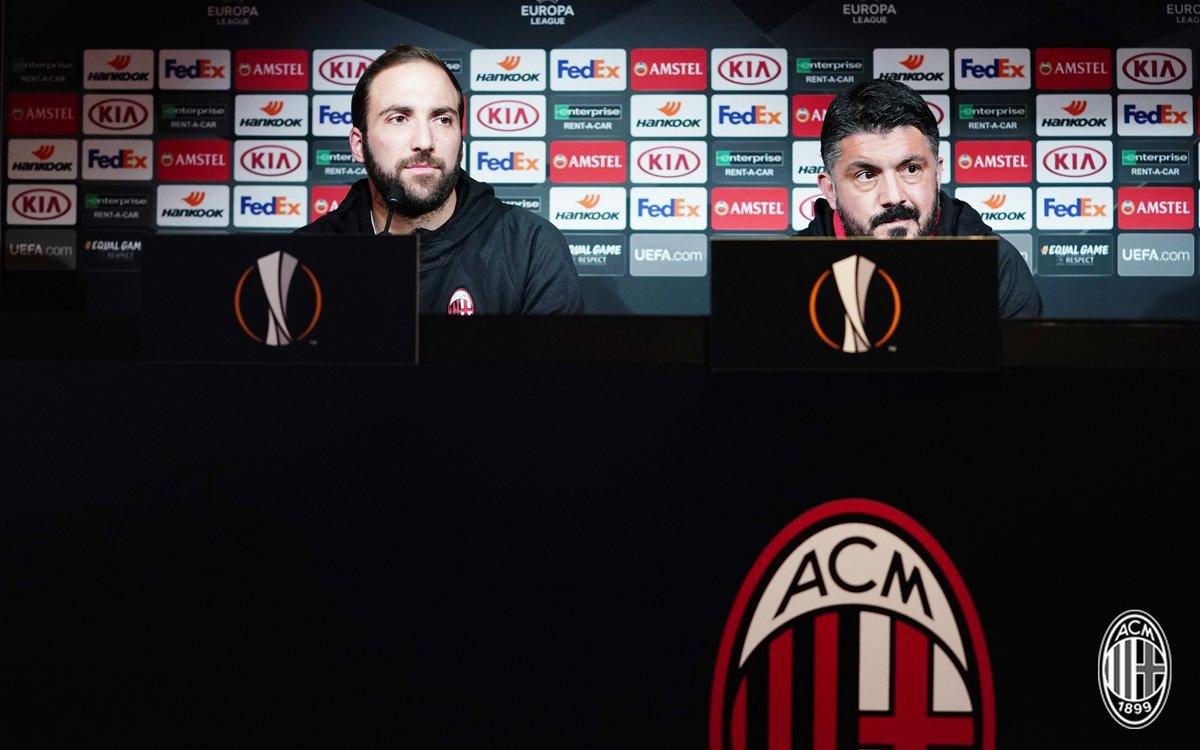Milan - Dudelange: la conferenza di Gattuso ed i convocati rossoneri