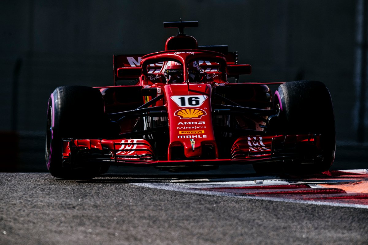 F1 Ferrari, Leclerc: