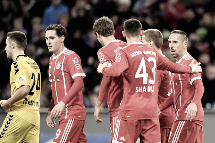 Bayer Leverkusen-Bayern Monaco 1-3: decidono Martinez, Ribery e Rodriguez. Gol e highlights