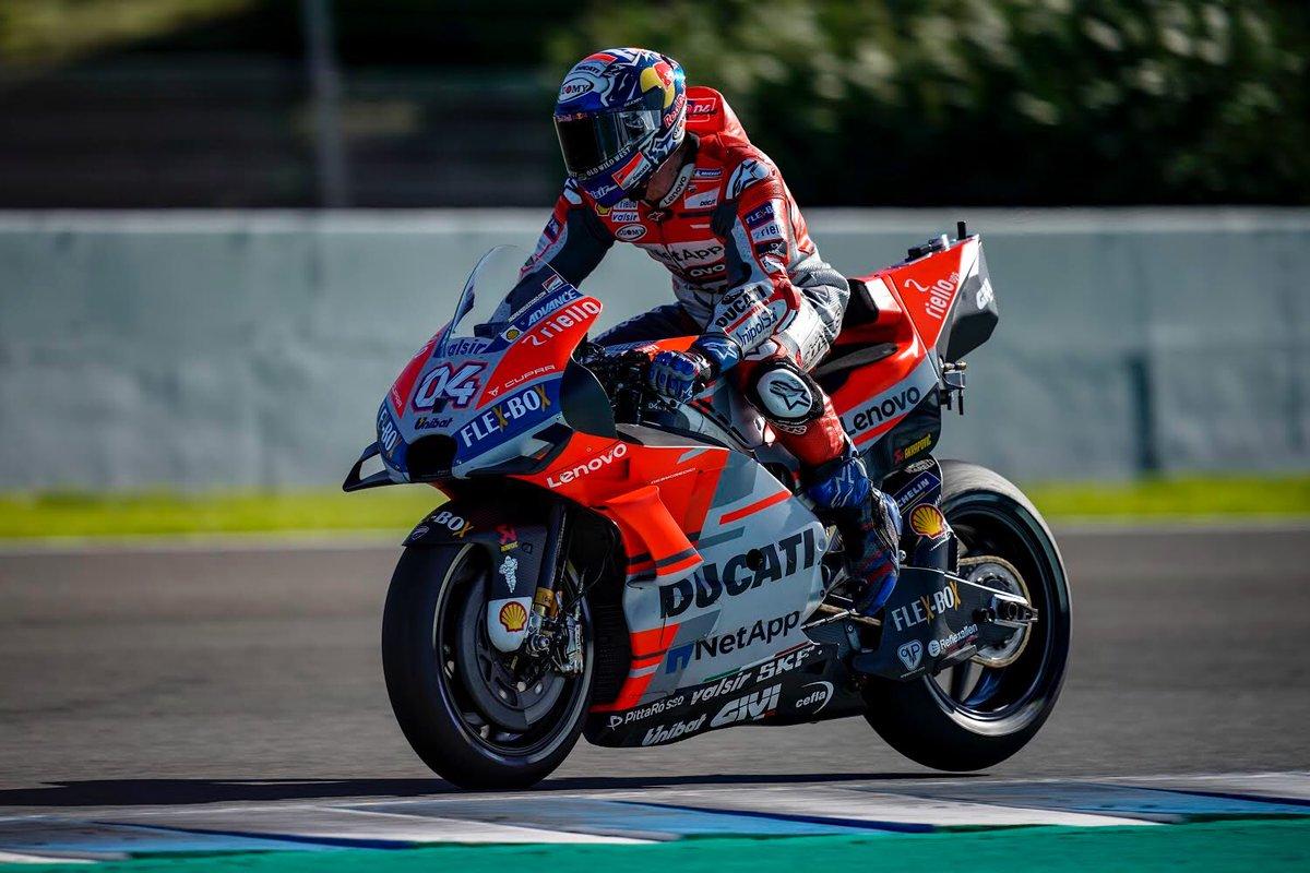 """MotoGP - Dovizioso: """"Abbiamo un ottimo passo"""""""