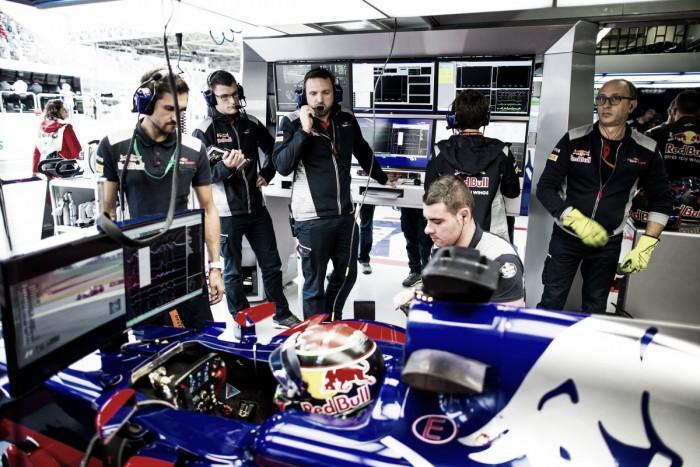 Cambios en el departamento de aerodinámica en Toro Rosso