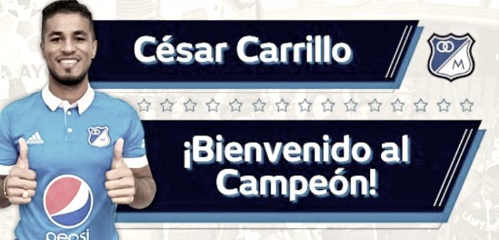Carrillo se vistió de azul