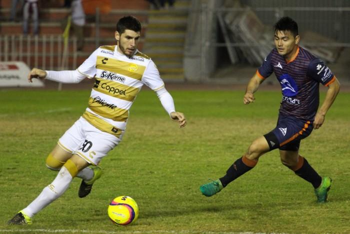 Resultado y goles del Correcaminos 2-1 Dorados de la Copa MX Clausura 2018