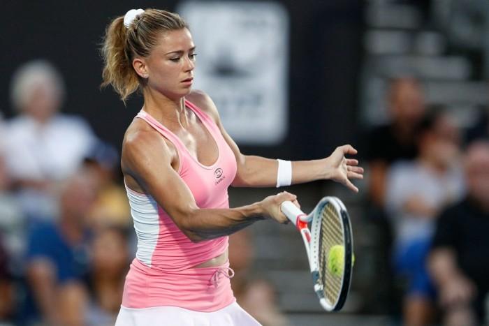 Australian Open, Day 4 - Giorgi sul centrale