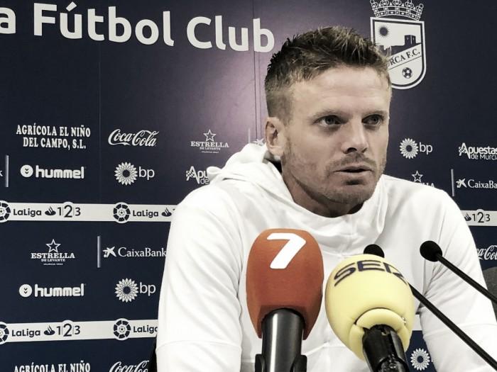 """Cristian Nasuti: """"Vengo muy motivado para darle la vuelta a la situación"""""""