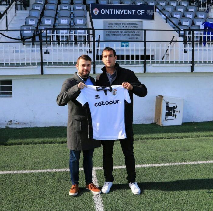 Álvaro Sánchez nuevo jugador del Ontinyent