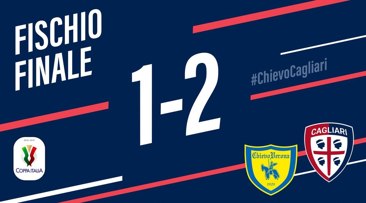 Coppa Italia - Il Cagliari vola agli ottavi: battuto 1-2 il Chievo