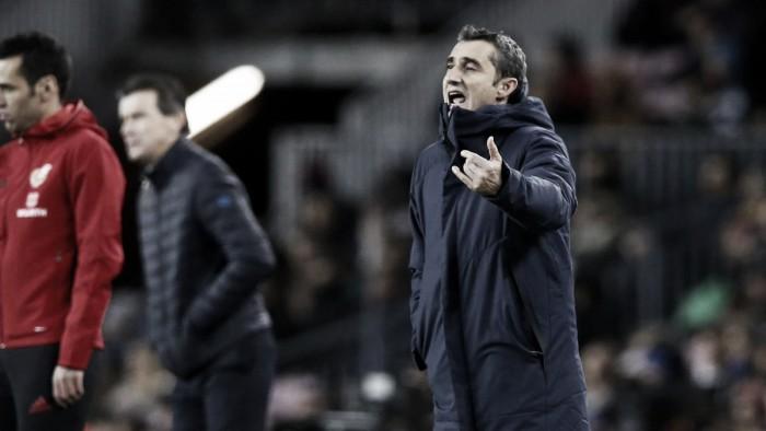 """Valverde valoriza grande atuação do Barcelona: """"Tudo pareceu mais fácil"""""""