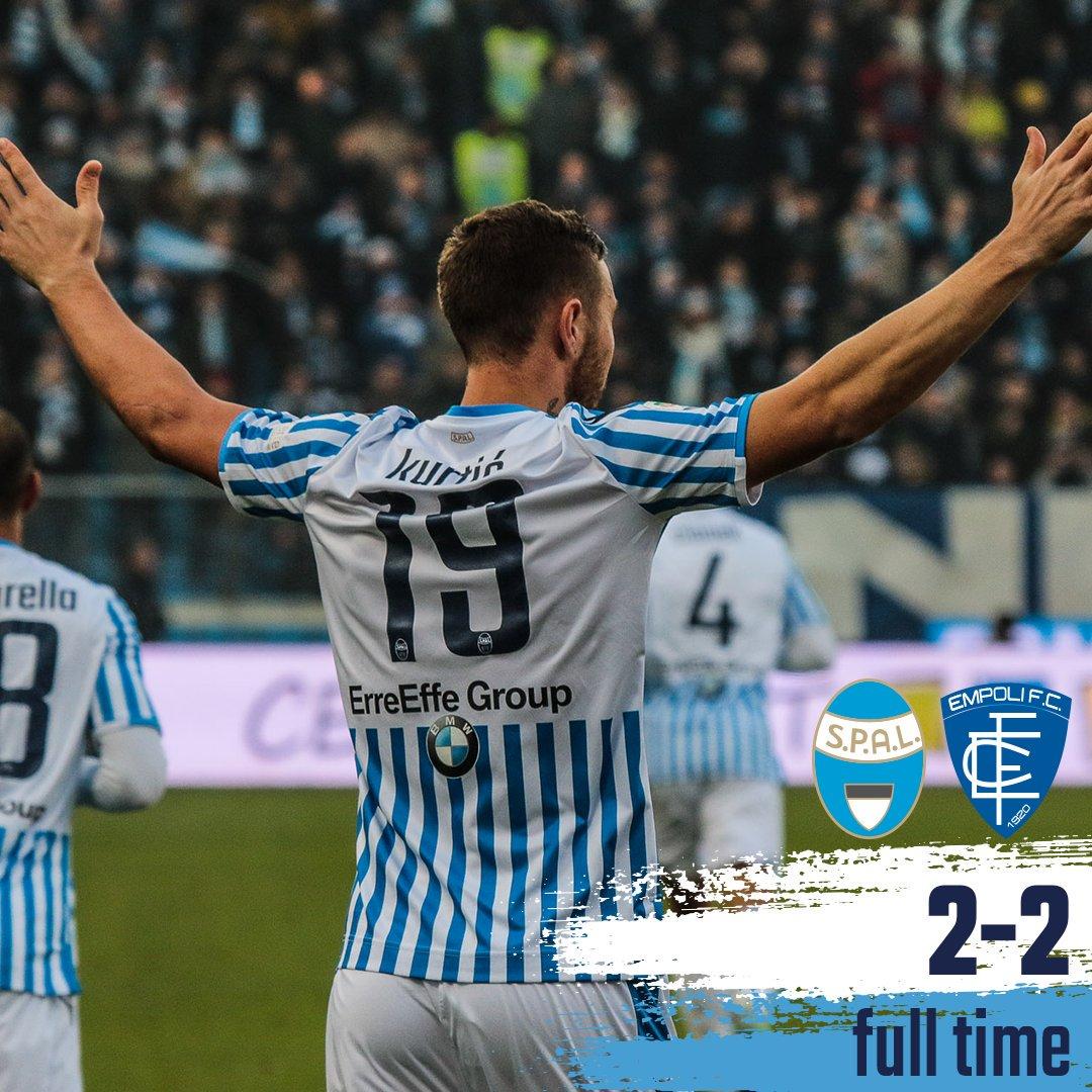 Serie A- Pareggio con spettacolo salvezza: tra Spal ed Empoli è 2-2