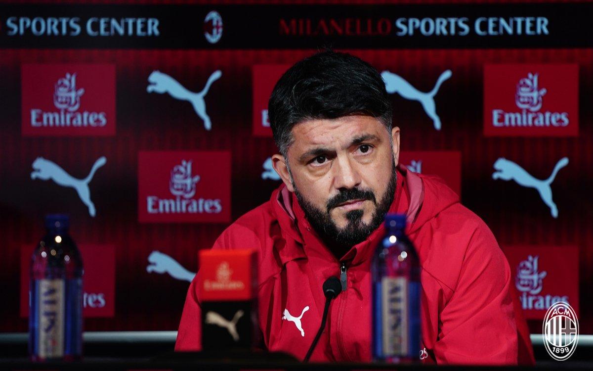 Milan - Parma, le parole di Gattuso in conferenza stampa