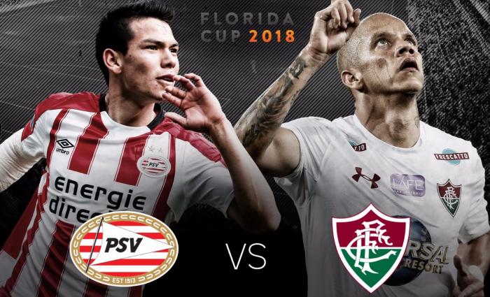 Fluminense empata no fim, mas perde para PSV nos pênaltis na estreia da Florida Cup