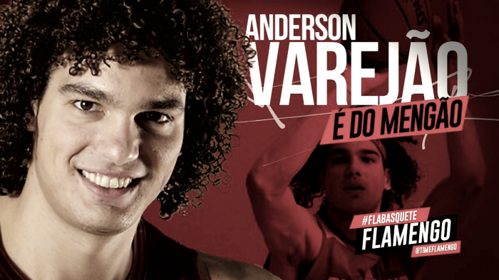 Basquete do Flamengo contrata Anderson Varejão para jogar NBB