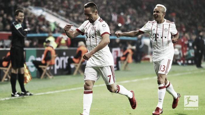 Bundesliga - Il Bayern riparte da dove aveva smesso: battuto 1-3 il Leverkusen