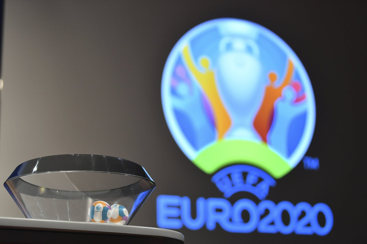 Sorteggiati i gironi di Euro 2020: Italia nel Gruppo J