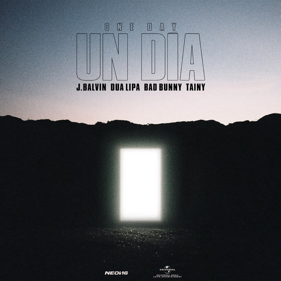 """""""Un día (One day)"""", el nuevo single colaboración de J Balvin, Dua Lipa, Bad Bunny y Tainy"""