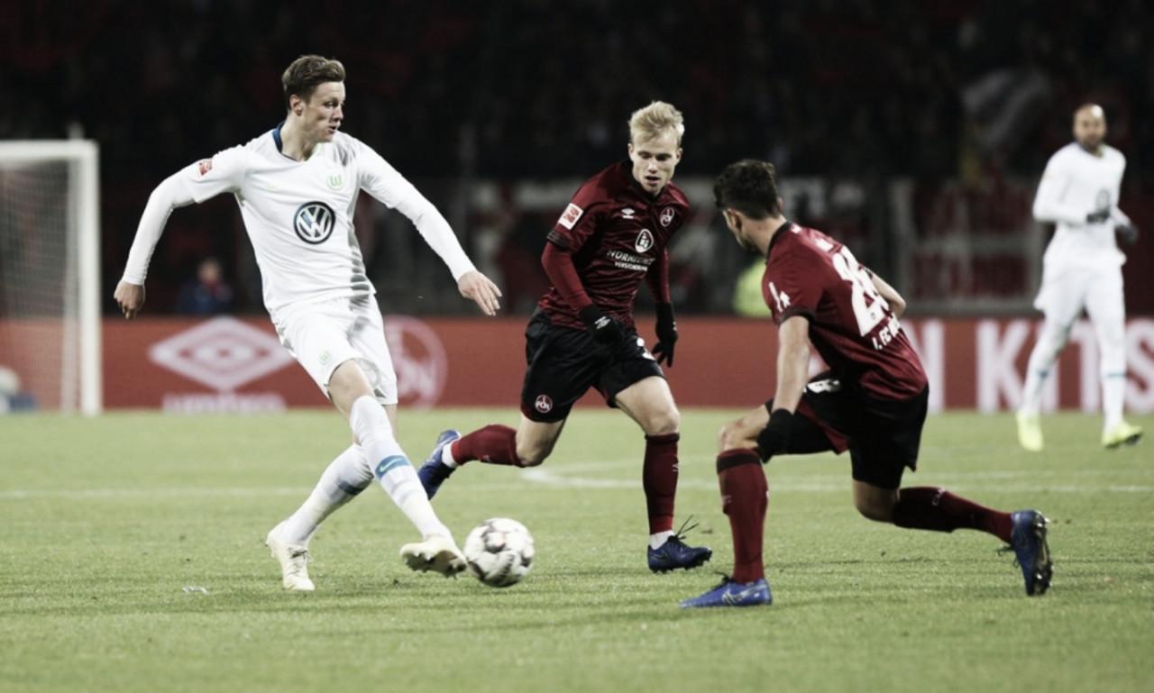 Wolfsburg aumenta su buena racha en Núremberg