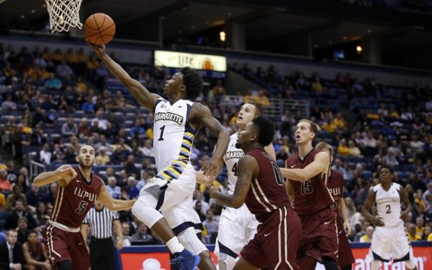 Marquette Golden Eagles Hold On Against IUPUI Jaguars 75-71 After Overtime