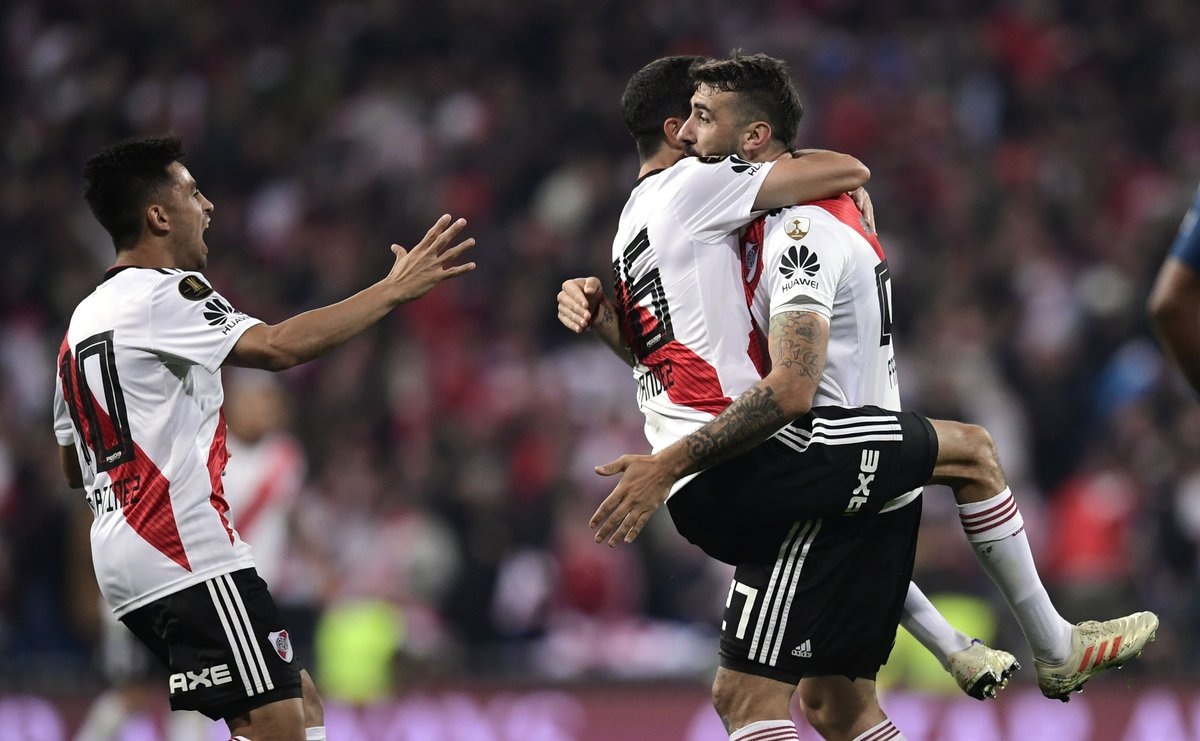 Copa Libertadores - Trionfa il River Plate: battuto il Boca Juniors 3-1