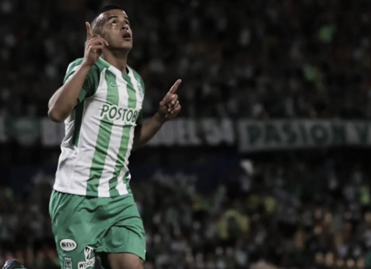 """Trabajo para marcar goles, para eso vine a Nacional"": Omar Duarte"
