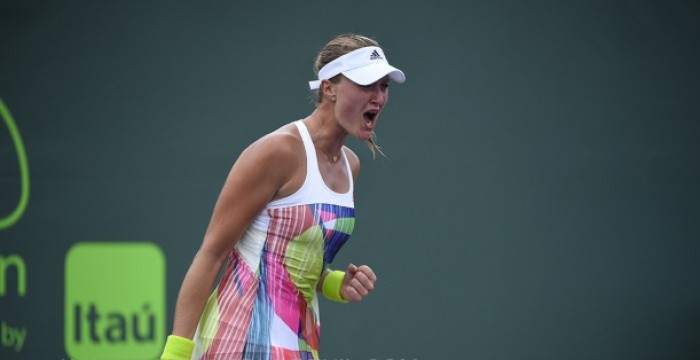 WTA Charleston: Kristina Mladenovic Moves On After Defeating Tatjana Maria In Straight Sets