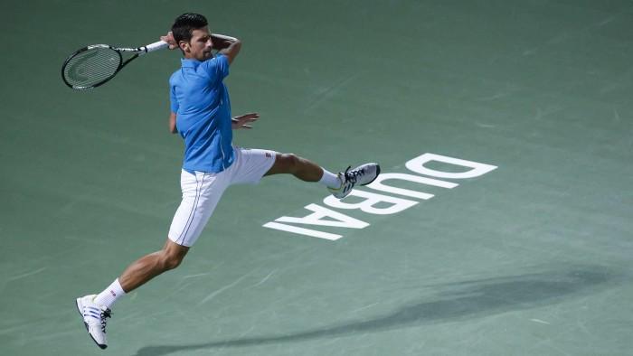 ATP Dubai: Novak Djokovic Retires With Eye Injury - Feliciano Lopez