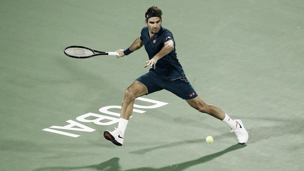 Seguro, Federer elimina Verdasco e vai às quartas do ATP 500 de Dubai