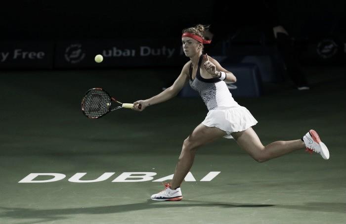 WTA Dubai - Sontuosa Svitolina, trofeo e top ten! Wozniacki al tappeto