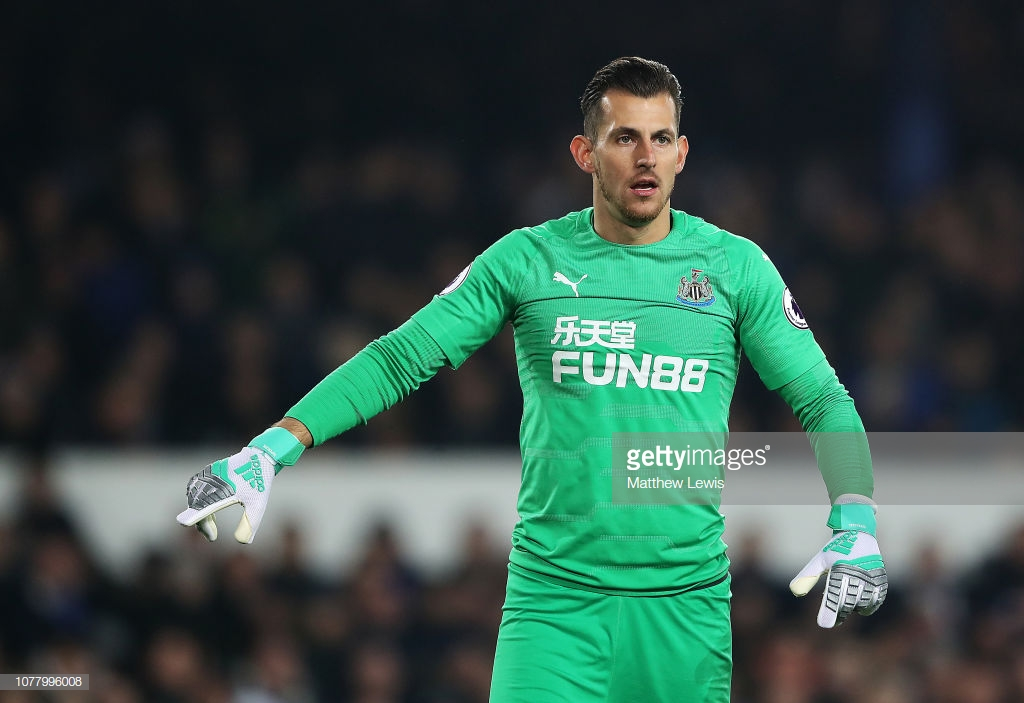 Dubravka wins North East Football Writers' Association player of the year 2018