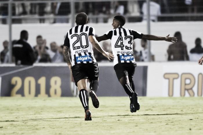 Com gol de Rodrygo, Santos empata com o Ituano no Pacaembu — Paulista