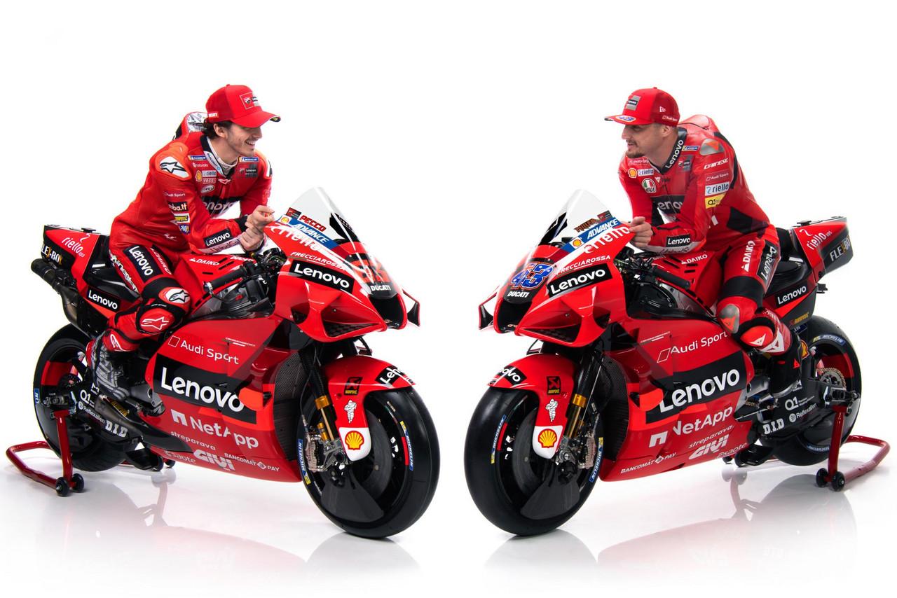 Día de presentaciones: El Ducati Lenovo Team muestra sus armas