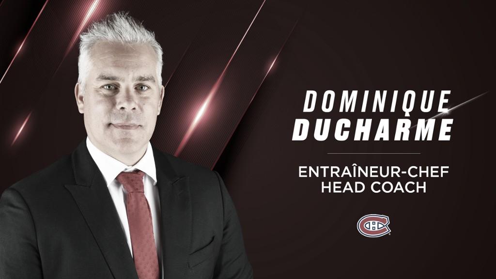 Dominique Ducharme, deja la interinidad y entrenará a Montreal