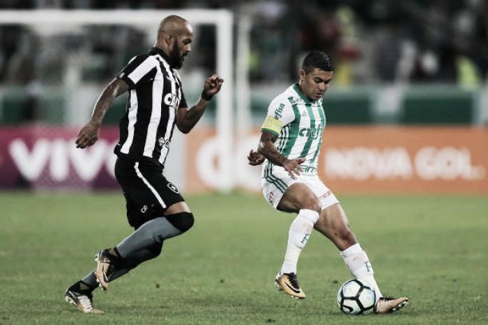 Em jogo movimentado, Palmeiras vence Botafogo fora de casa e mantém boa sequência