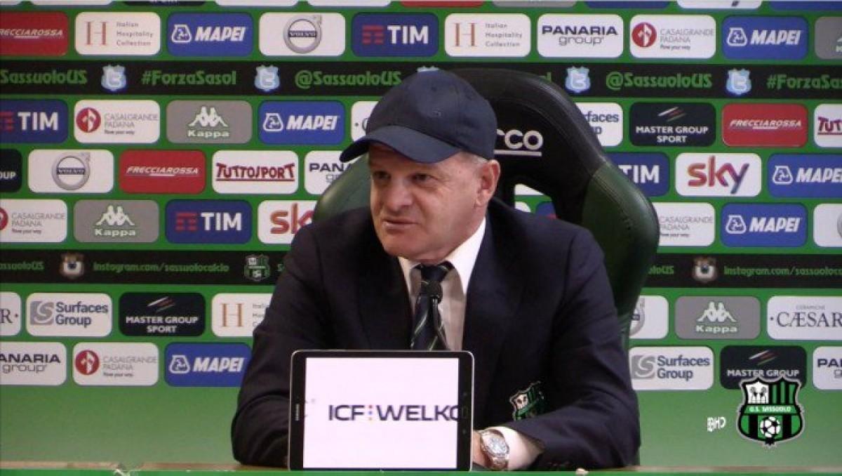 """Sassuolo - Iachini: """"Con la SPAL importante ma non decisiva, dobbiamo essere uniti"""""""