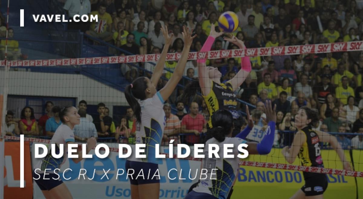 Finalistas, Praia Clube e Sesc RJ protagonizaram grandes jogos na Superliga Feminina