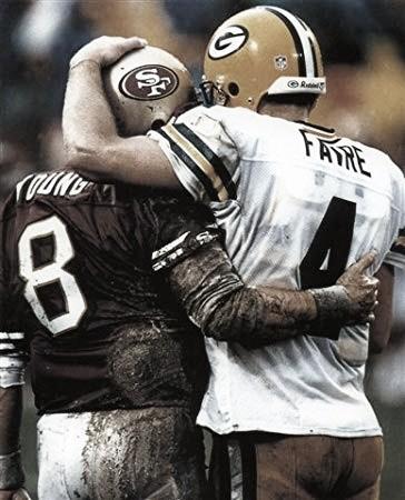 Históricos duelos: Green Bay Packers - San Francisco 49ers