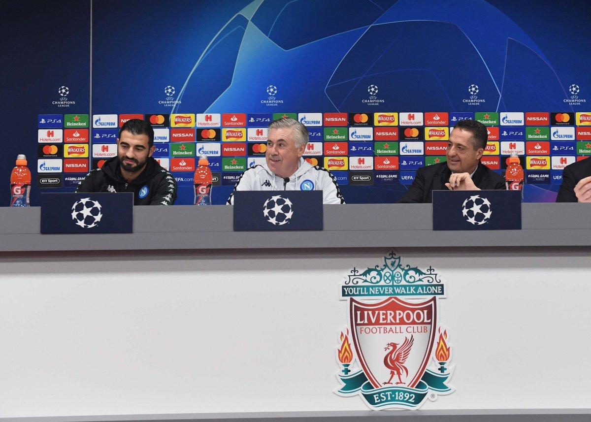 Champions League: il Napoli vuole scrivere la storia nell'Inferno di Anfield Road