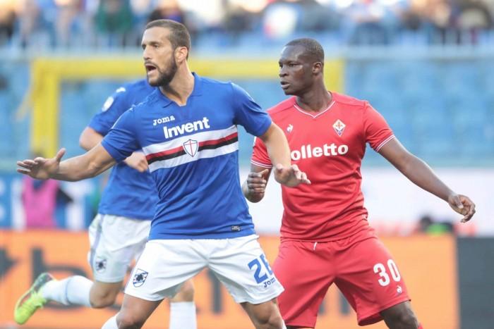 Sampdoria Fiorentina le probabili formazioni. Cambi in attacco?