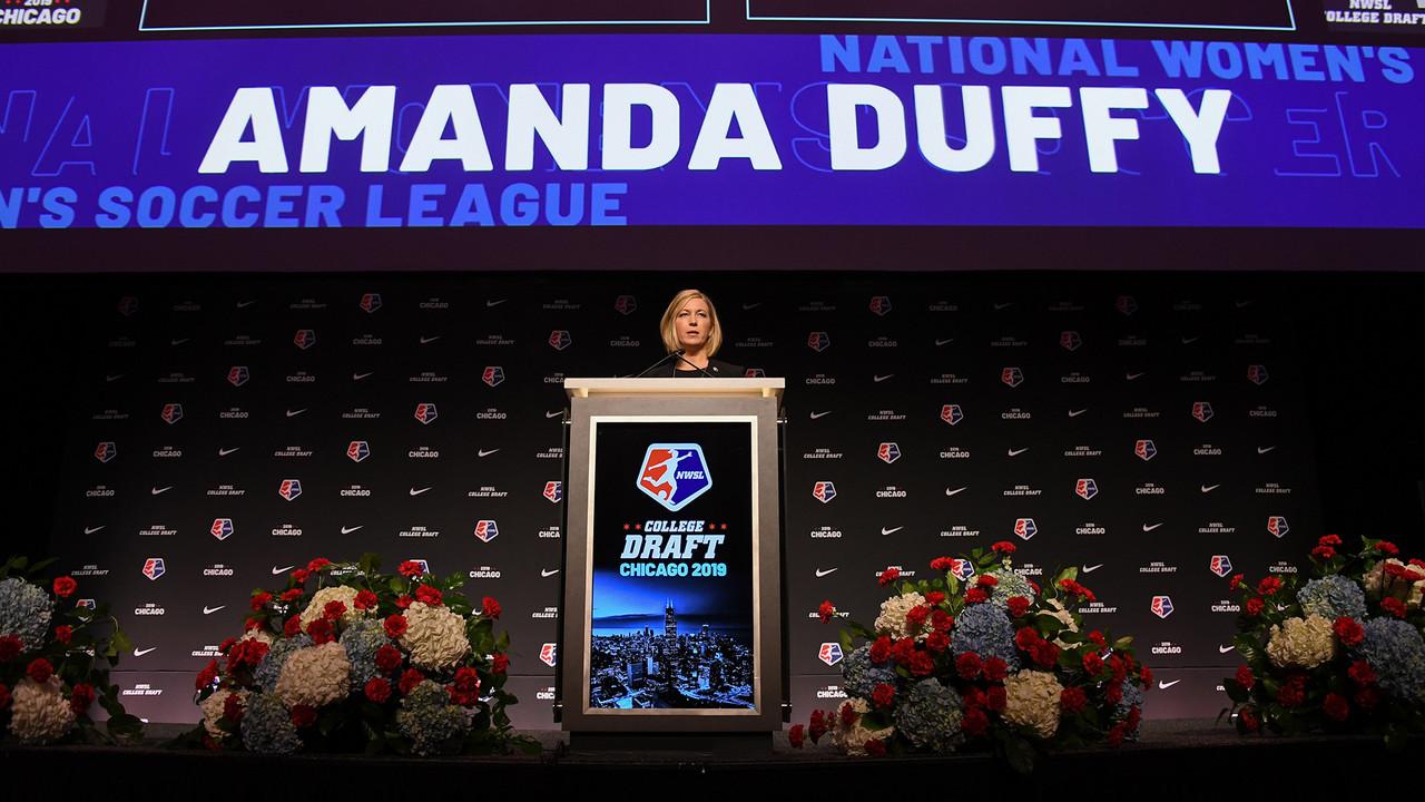 The NWSL name Amanda Duffy as President