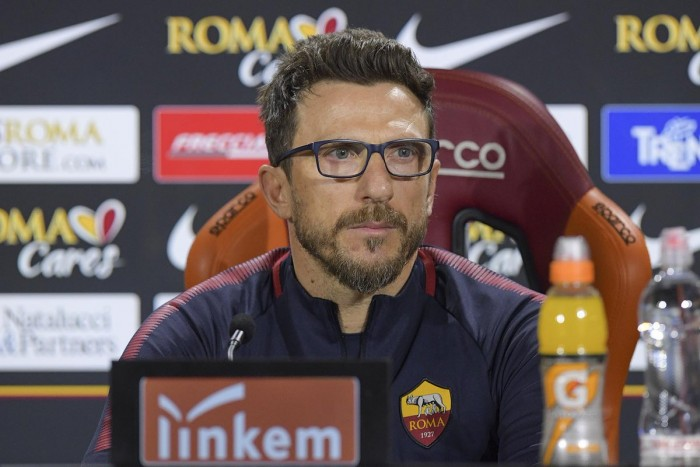 Roma-Sampdoria, Di Francesco in conferenza stampa: