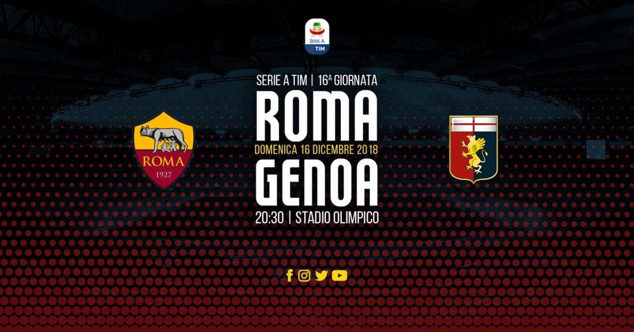 Serie A, Roma - Genoa: le probabili formazioni